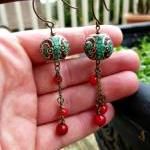 Red Coral Beads..