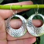 Sterling Silver Hammered H..